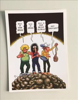 The Freak Brothers ansichtkaart 6