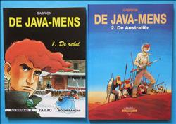 De java-mens - De rebel - De Australier - Deel: 1 en 2  - HC - 1e druk - 1990/1992 - (Gabrion.) - uitgave: Talent.