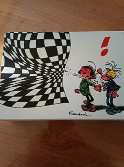 Guust Flater. Complete Oblong Box 5 x HC (Andre Franquin).