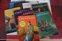 Chinaman - volledige reeks in 9 delen in softcover.