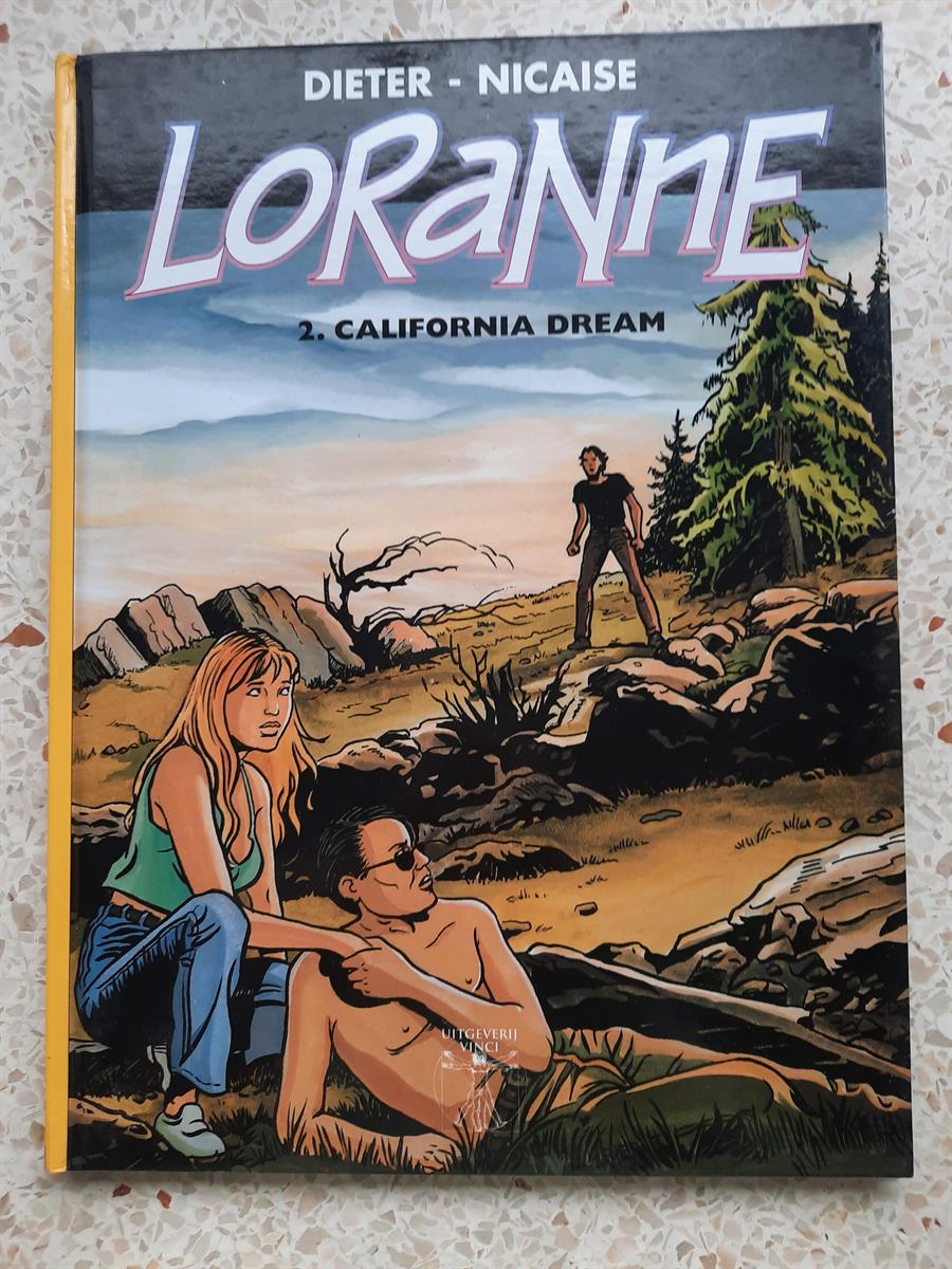 Collectie vinci  loranne- 2 california dream   - hc -1e druk